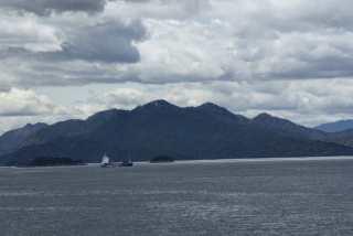 """Insula Miyajima, pe care tocmai am """"trădat-o"""". Anul trecut pe vremea asta eram acolo."""